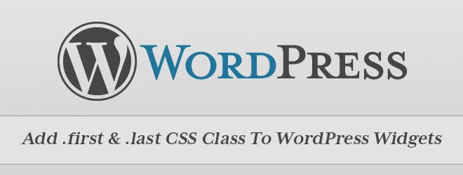 add-first-last-css-class-wordpress-widgets