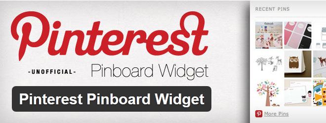 Pinterest Pinboard WordPress Widget