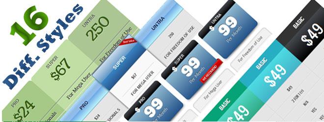 WordPress Pricing Table Pro Plugin