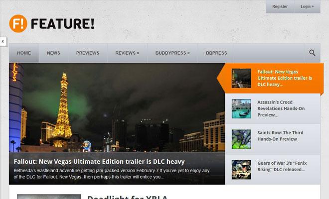 Feature! WordPress Community Magazine BuddyPress Themes