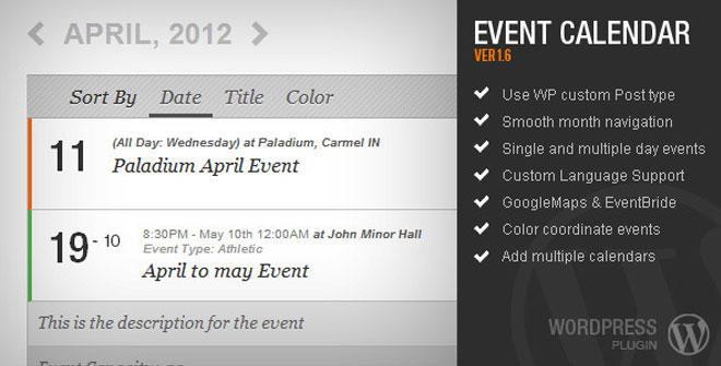 AJDE Event Calendar